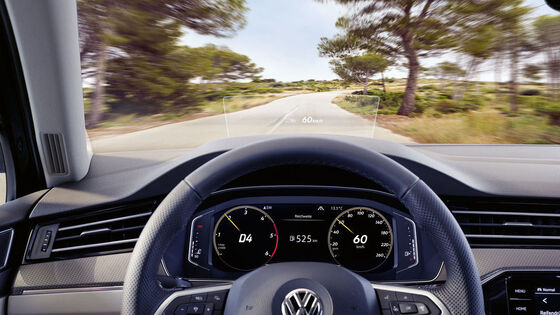 Volkswagen car test drive